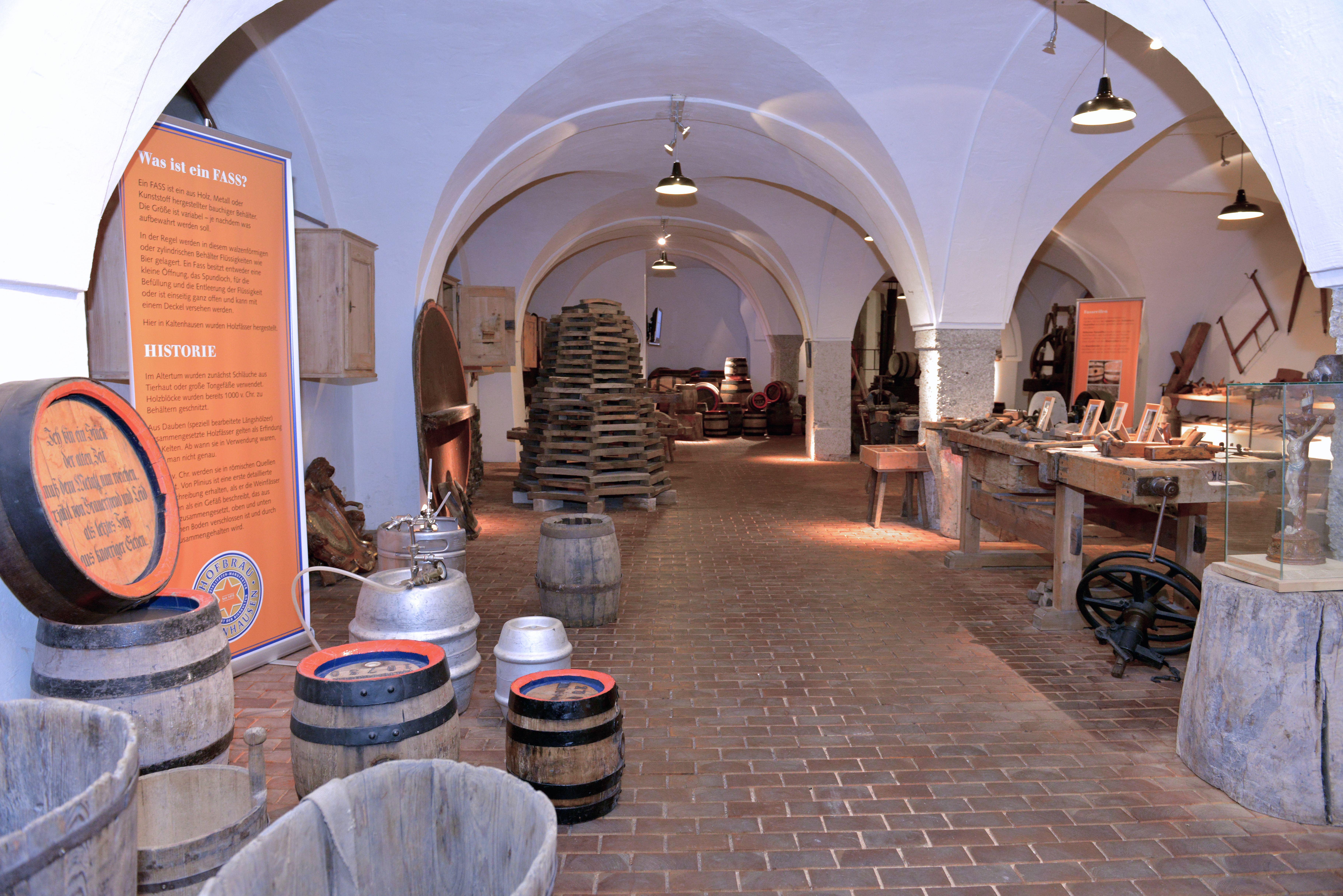 Hallein | Brauerei- und Bindereimuseum Hofbräu Kaltenhausen
