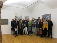 Gruppenfoto Vernissage Teil 1