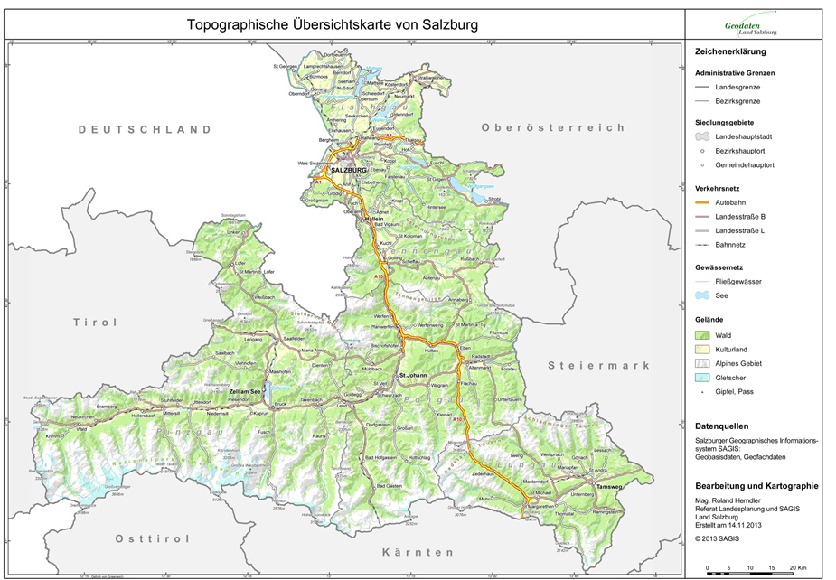 Land Salzburg Themen